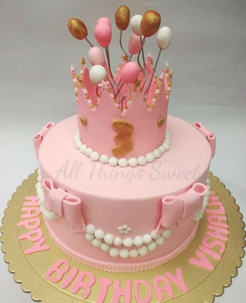 Custom Birthday Cakes For Girls In Delhi Gurgaon Ncr